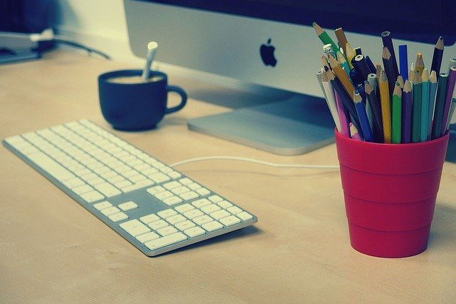 Home office items to work online