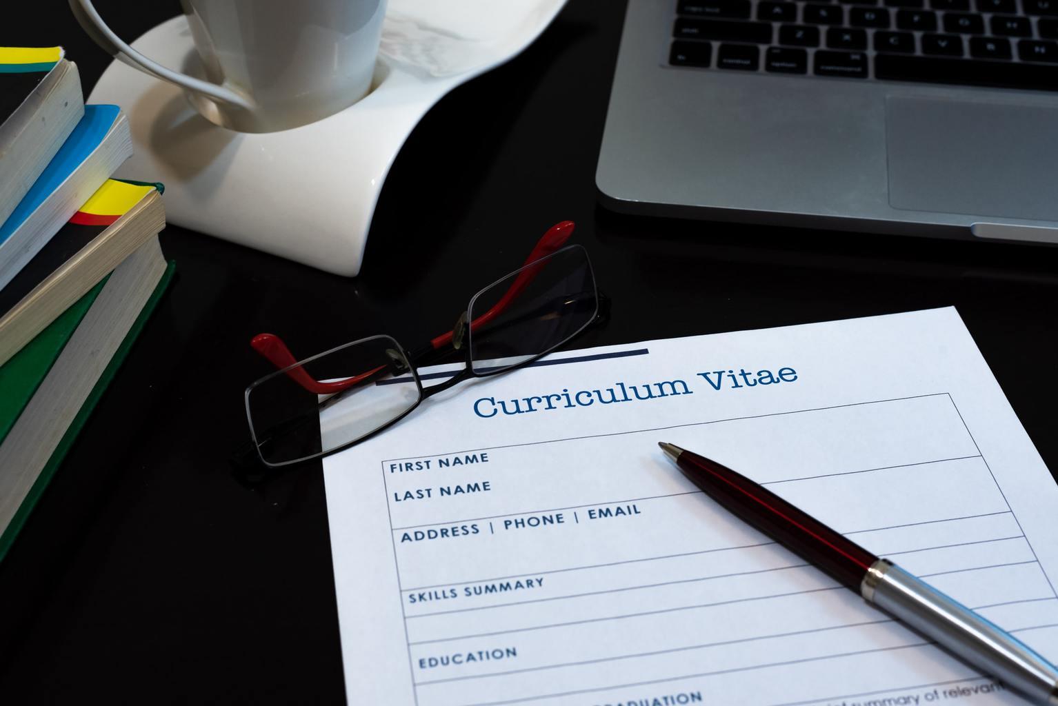 Chronological resume format