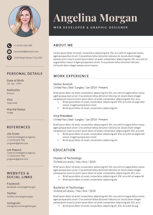 Perfecting a resume