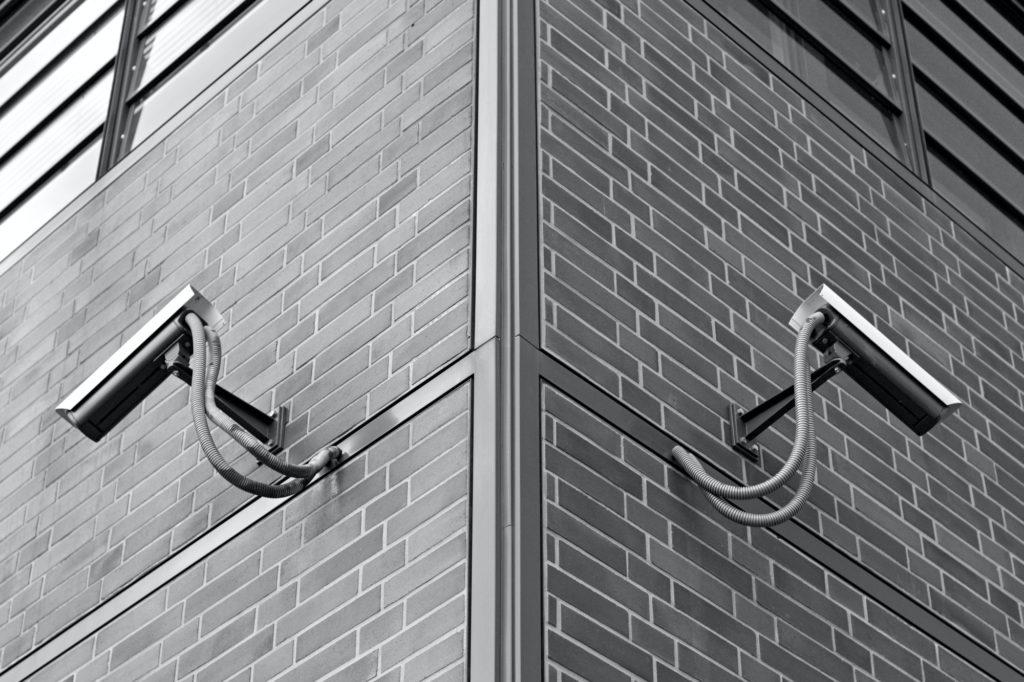 Symmetric Security Cameras