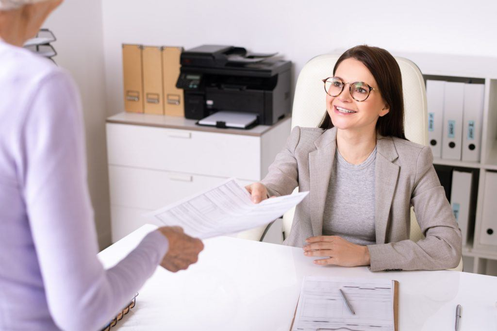 Case worker resume