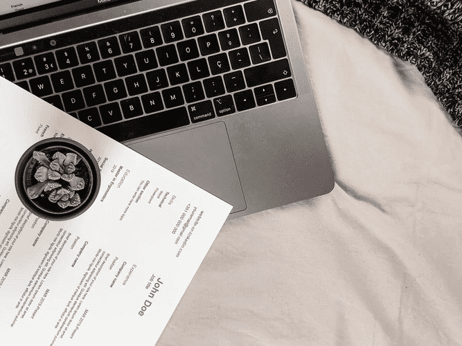 Headings for your Coffee Shop Resume