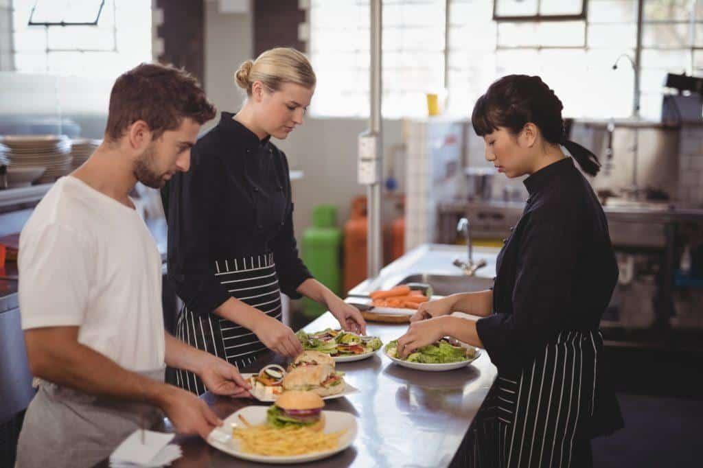 Food service cv examples