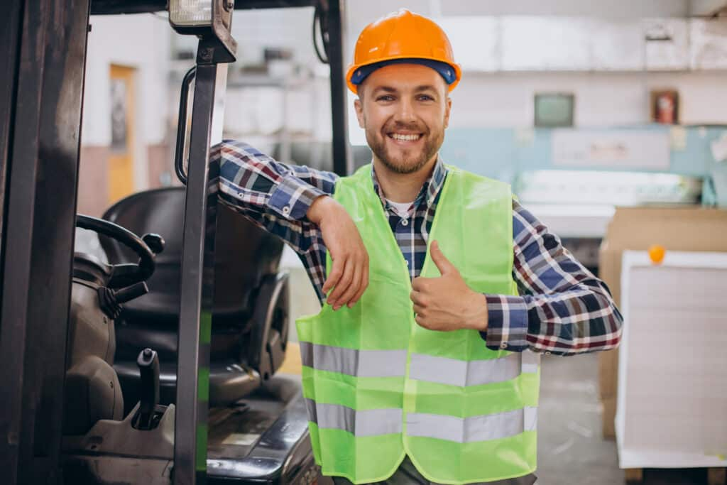 Example of a forklift operator resume