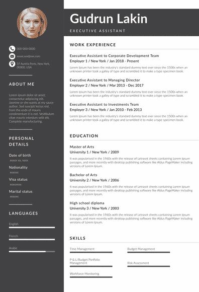 Executive Assistant Resume (EN)-Rotterdam.pdf