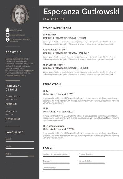 Law School Resume Examples (EN)-Rotterdam.pdf