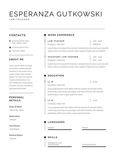 Law School Resume Examples (EN)-Sydney.pdf