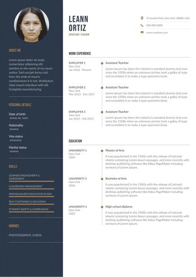 Resume Teaching Assistant (EN).pdf