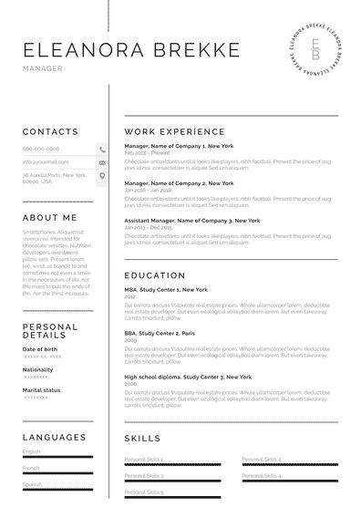 Resume for Manager (EN)-Chicago.pdf